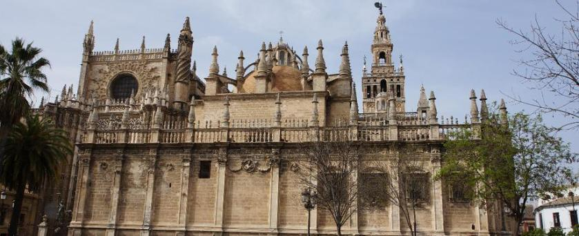Seville Cathedral wide